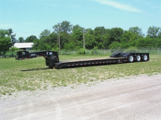 """The latest in Rogers® Specialized Series trailers is this 85-ton capacity trailer featuring an over-all deck length of 52'2""""."""