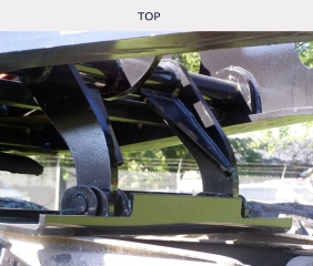 ROGERS® new Gooseneck Jack Paddle requires little or no tractor modification and offers plenty of lift distance.