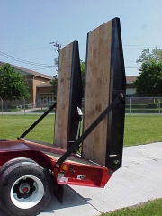 Pictured Option: Extra-large oak-covered loading ramps (96