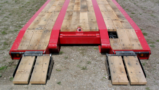 A variety of approach ramps are available - including the laterally adjustable front folding ramps shown.