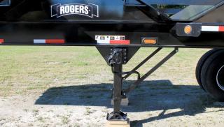 Heavy-duty two-speed landing gear set is standard equipment.