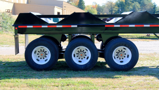 SAF-Holland TR8900 suspension has a 90,000 lbs capacity and is built for superior durability.