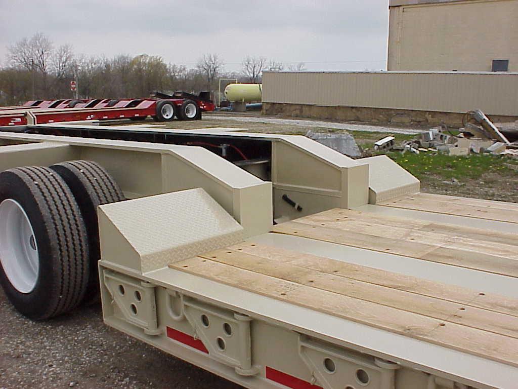 Kya Removable swinging trailer side brackets