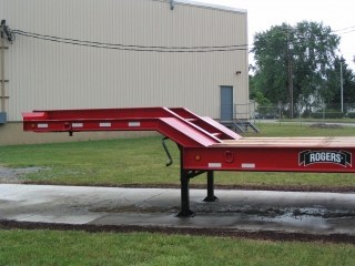 The ramps and beavertail have a 14° loading angle for easy loading.