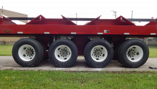 SAF-Holland TR4120 suspension has a 120,000 lbs capacity and is built for superior durability.