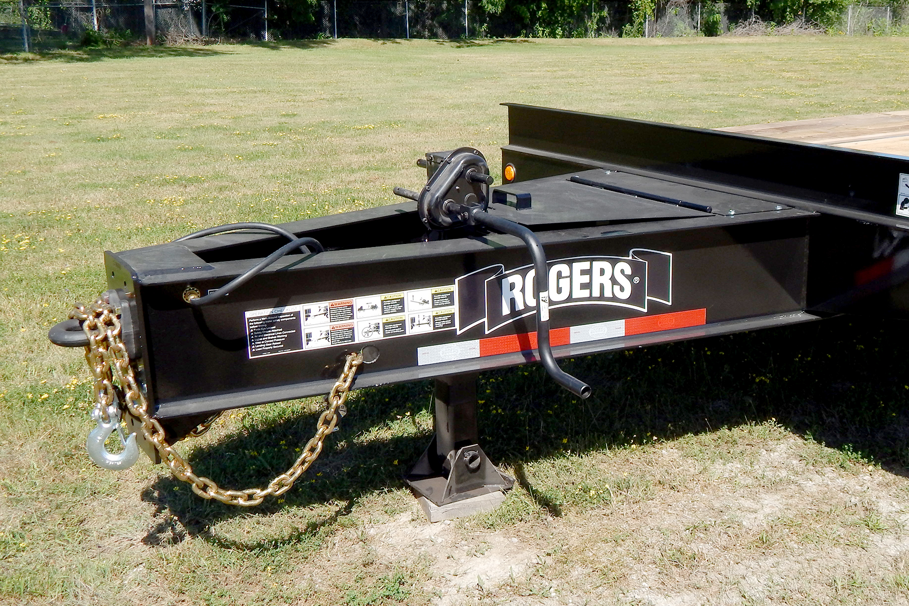 21 Ton Tag21xxl Air Ramps Tag Along Trailer Rear Loading 1 4 Wiring Quotes A Large Toolbox With Lockable Steel Lid Located In The Drawbar Provides Ample Storage For Chains