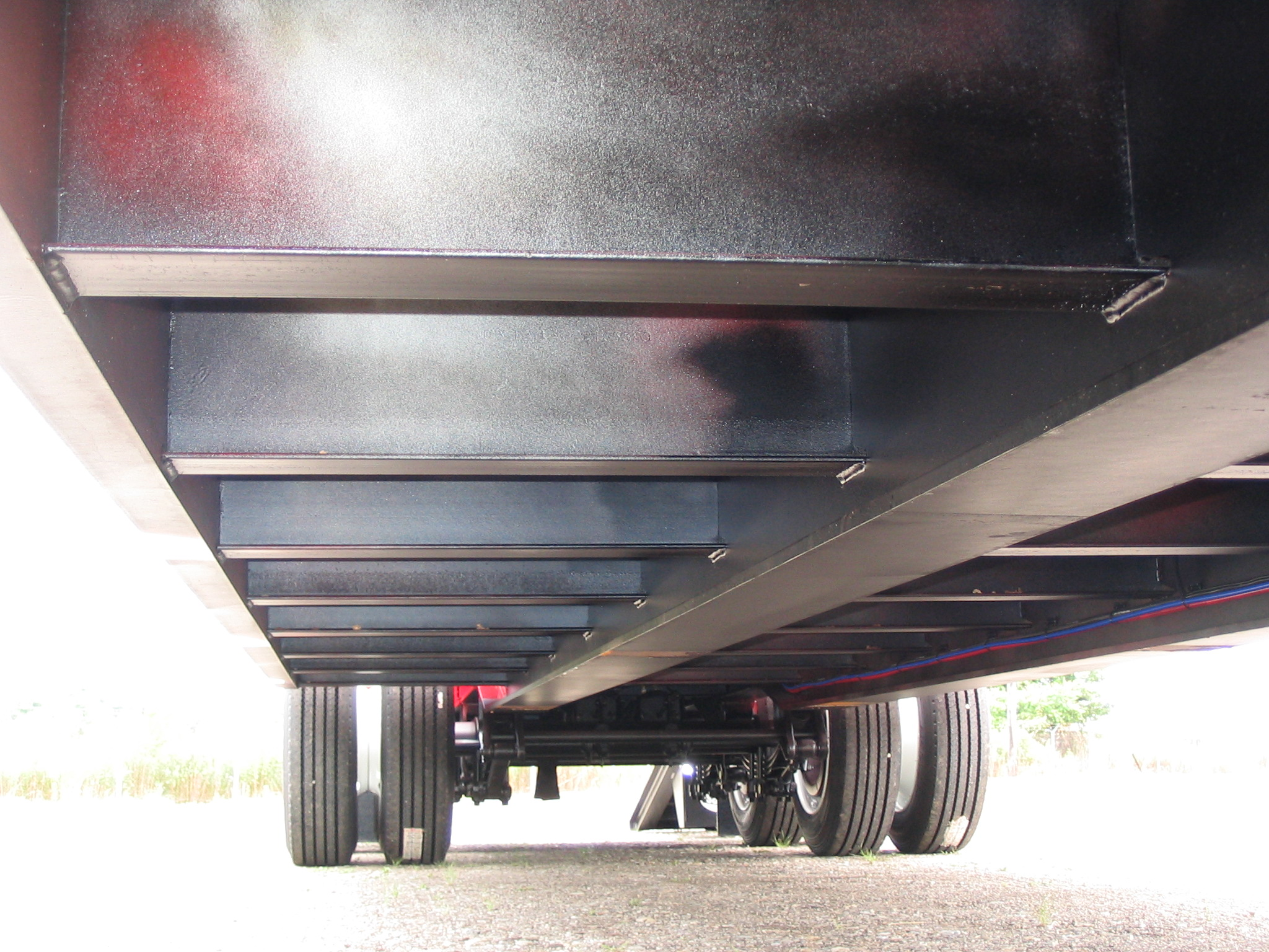 35 Ton Tvt35 Tvt Trailer Rear Loading Fixed Gooseneck