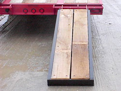 Rear Loading Ramps / ''E-Z'' Flip Manual, Wood-Covered
