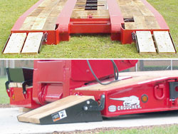 Front Folding Ramps