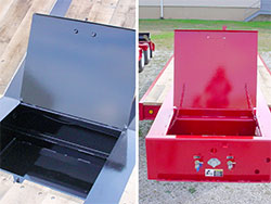 Toolbox / Steel Covered