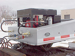 Gas Engine / Dual Hydraulics