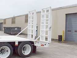 Rear Loading Ramps / Hydraulic-Powered, Ladder-Style